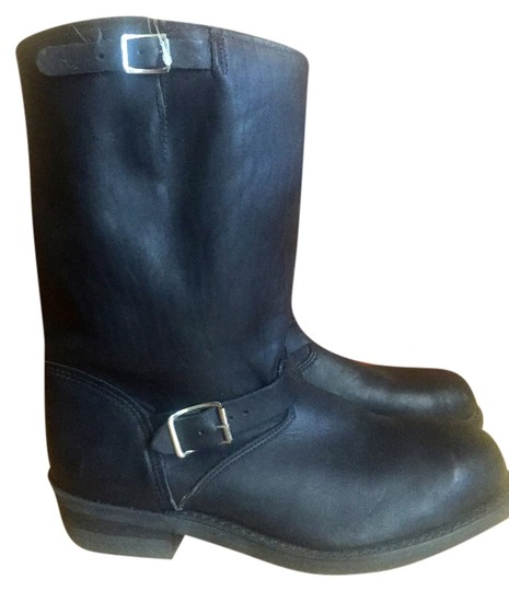 Preload https://item2.tradesy.com/images/double-h-black-boots-5188156-0-0.jpg?width=440&height=440
