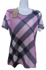 Burberry T Shirt Lavander