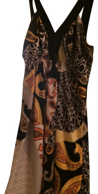Body Central Top Black with pattern