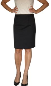 Theory Straight Skirt Charcoal