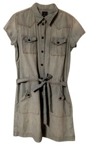 Lucky Brand short dress denim on Tradesy
