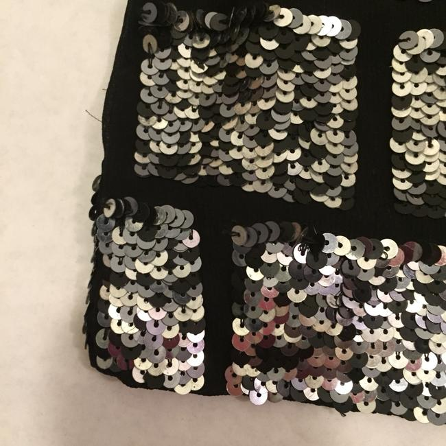Urban Outfitters Skirt Black and Silver