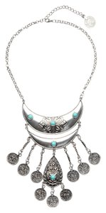 Eye Candy Los Angeles Eye Candy Los Angeles Teal Coin Necklace