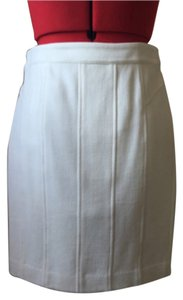 Ann Taylor Mini Skirt Bone Color