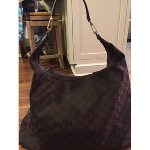 Gucci Dark brown Travel Bag