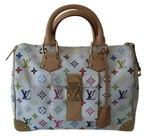 Louis Vuitton Multicolor Satchel in Multicolore