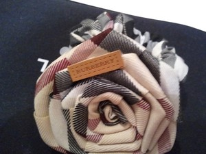 Burberry New Authentic Plaid Burberry Hair Tie/Ponytail Crunchy