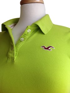 Hollister T Shirt Lime green