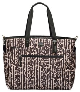 Coach Ocelot Print Diaper Bag