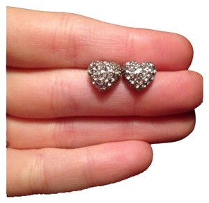 Other Sparkly Heart Earrings