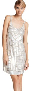 Adrianna Papell Art Deco Beaded Sleeveless Dress