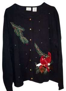 Classic Elements Holiday Christmas Cardinals Sweater