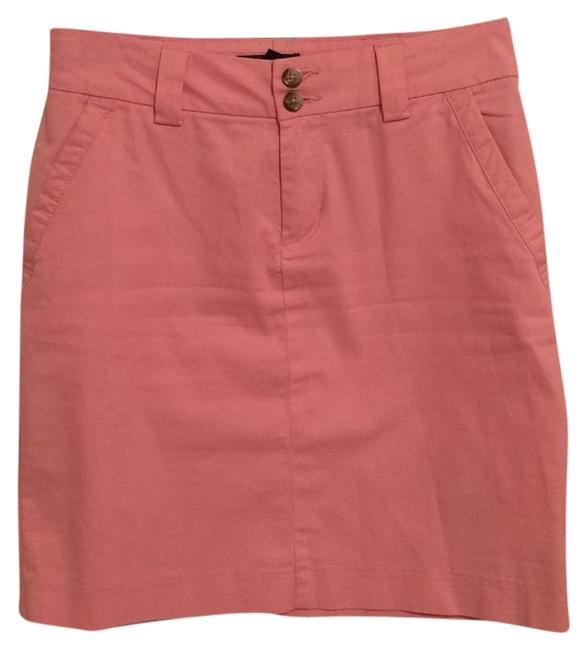 Tommy Hilfiger Preppy Office Casual Skirt Pink