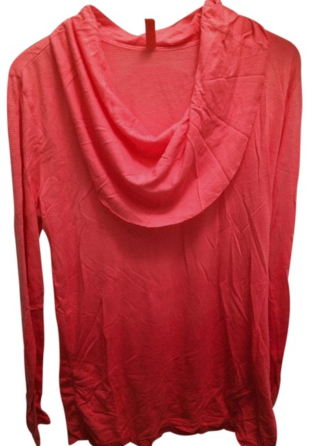 Item - Bright Pink/Coral/Orange Ombre Yoga Wear Activewear Top Size 12 (L, 32, 33)