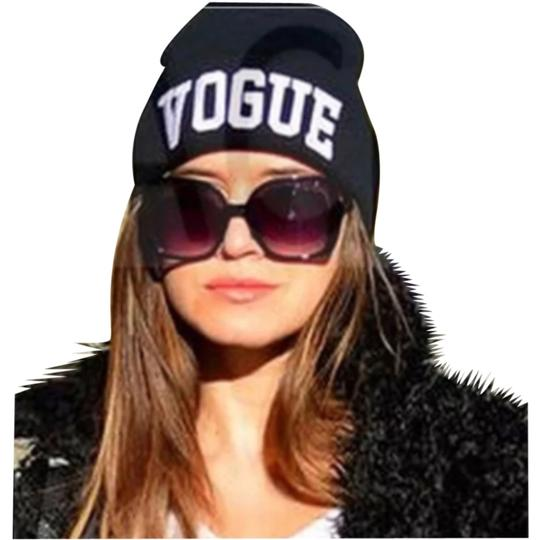 Other Vogue NEW Hip Hop Black Embroidery Beani Hat