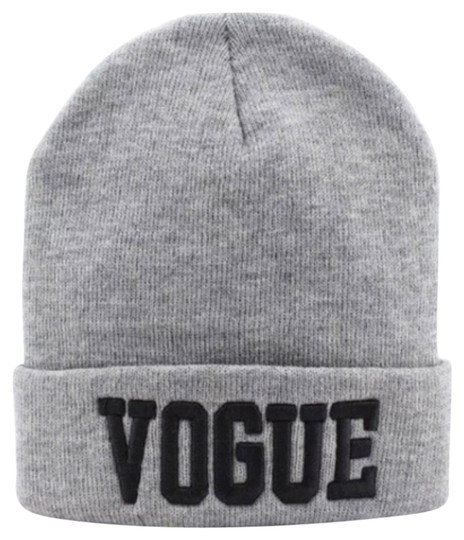 Other Vogue NEW Hip Hop Grey Embroidery Beani Hat