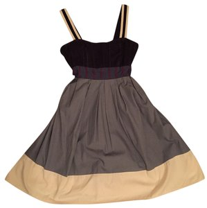 Lux short dress Multi Colorblock on Tradesy