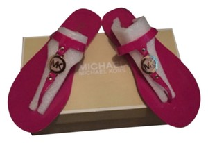 Michael Kors Fuschia Sandals