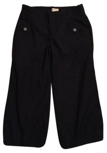 Anthropologie Work Attire Pants Stylish Chic Capris Black