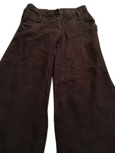 Anthropologie Cargo Stylish Capris Brown