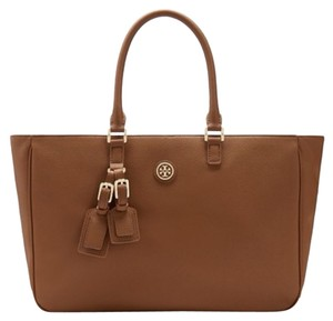 Tory Burch Roslyn Tote in Luggage