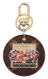 Louis Vuitton Louis Vuitton ILLUSTRE POSIES Monogram BAG CHARM
