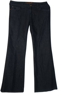 MICHAEL KORS Dressy Wide Stylish Flare Leg Jeans-Medium Wash