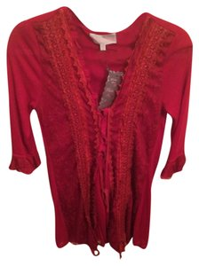 Pretty Angel Top Red, true red