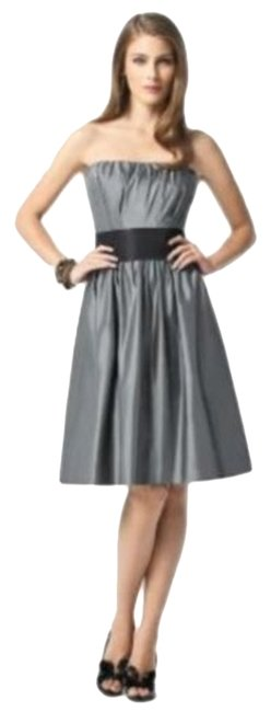 Item - Gray 2836....cocktail Dress.....pewter....10 Mid-length Night Out Dress Size 10 (M)