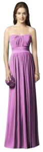Dessy Strapless Full Length Dress
