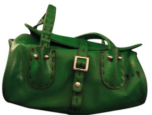 Matt and Nat Vegan Leather & Satchel in Green
