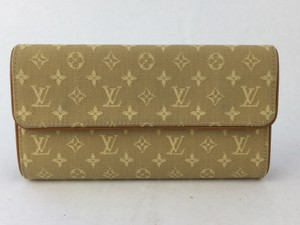 Louis Vuitton Loius Vuitton Monogram Mini International Porte Tresor Wallet Canvas