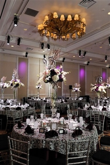 Exquisite Silver Sequence Table Overlays