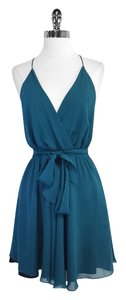 Mara Hoffman short dress Silk Spaghetti Strap on Tradesy