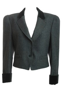 Escada Vintage Tweed GREEN Blazer