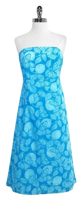 Preload https://item3.tradesy.com/images/lilly-pulitzer-blue-butterfly-print-cotton-strapless-above-knee-short-casual-dress-size-8-m-5193247-0-0.jpg?width=400&height=650