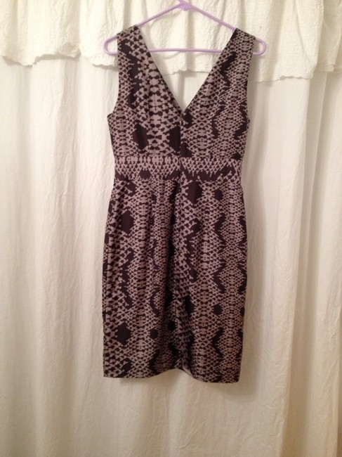 Banana Republic Professional Work Wear Office Snake Skin Animal Print Happy Hour Night Out Dress