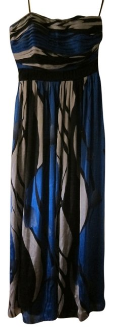 Preload https://item4.tradesy.com/images/max-and-cleo-bluegrayblack-long-formal-dress-size-8-m-5193988-0-0.jpg?width=400&height=650