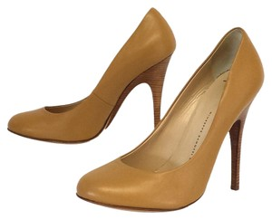 Giuseppe Zanotti Tan Leather Pumps
