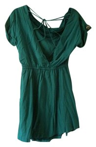 Spring Step short dress Green on Tradesy