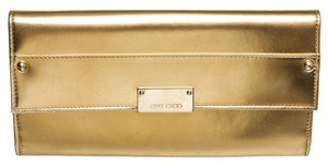 Jimmy Choo Gold Clutch