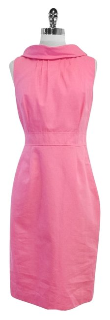 Preload https://item3.tradesy.com/images/lilly-pulitzer-pink-cotton-sleeveless-high-low-short-casual-dress-size-8-m-5194387-0-0.jpg?width=400&height=650