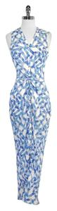 Maxi Dress by WAYNE Print Silk Maxi