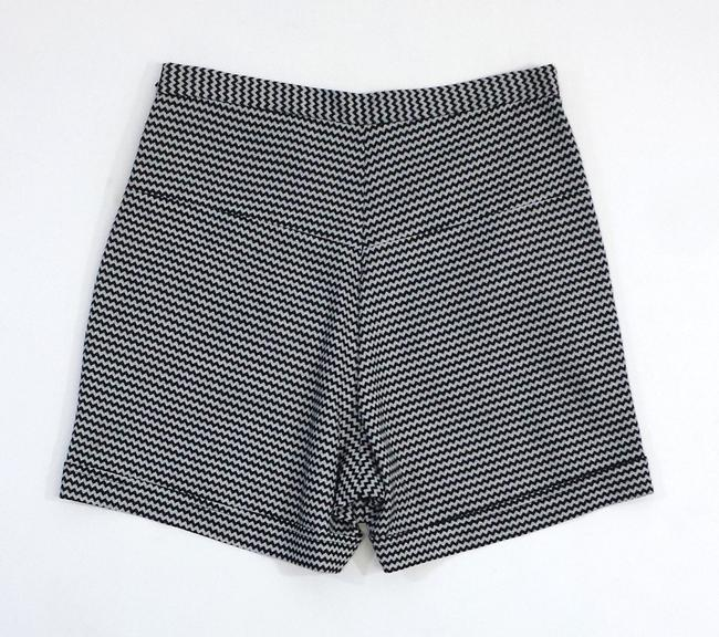 Rachel Comey Chevron High Waisted Shorts
