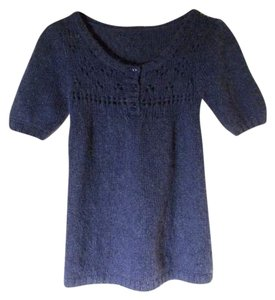 dELiA's Mohair Wool Babydoll Tunic Sweater