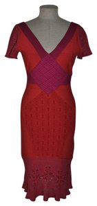 Zac Posen Bodycon Bandage Crochet Dress