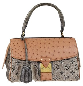 Louis Vuitton 2010 Limited Comedie Carrousel Jit179173500y Satchel in Rose Gold Monogram