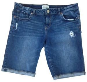 Aéropostale Cuffed Shorts Denim