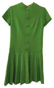 Mam'selle Knits/Betty Carol short dress Green Vintage on Tradesy