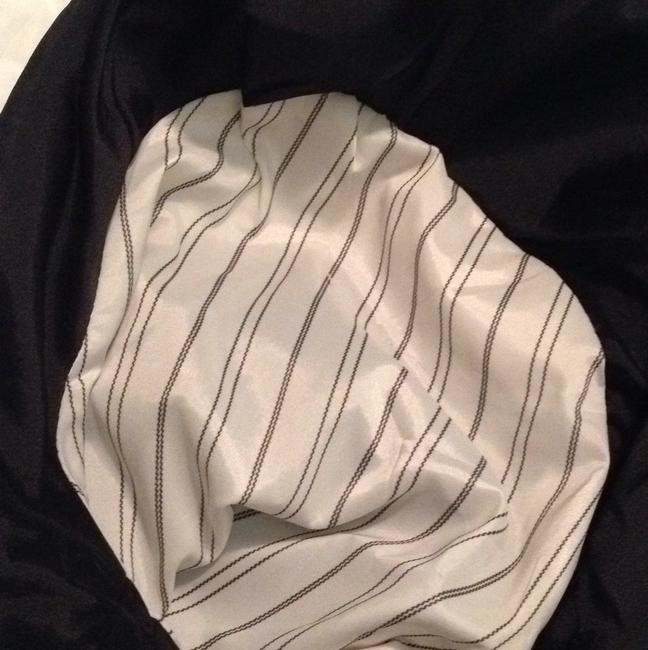 Theory Top Black with striped lining to sleeves